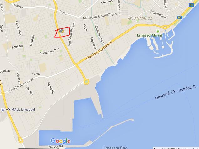 Commercial Viable Building 2 Floors Near Sea Port of Limassol