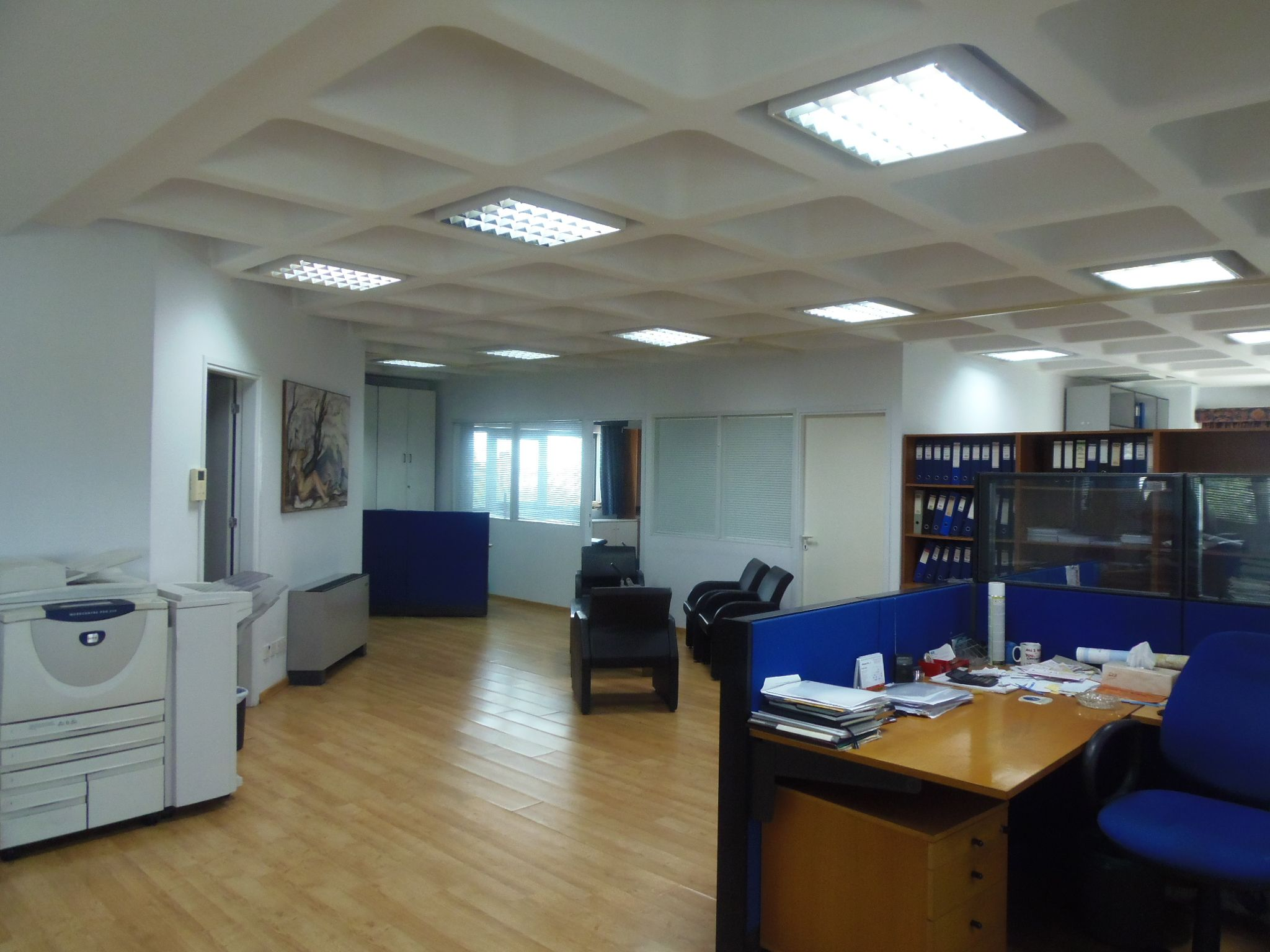For rent beautiful big office space in the city center Nicosia