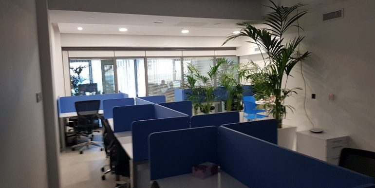 Open Space Sea front office for rent Limassol www.comspacesincyprus.com 1