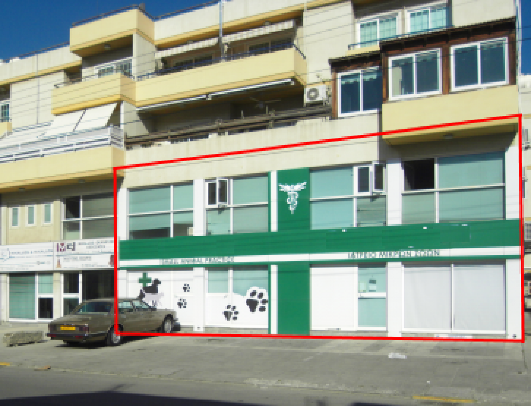 Four spans showroom for sale in Larnaca