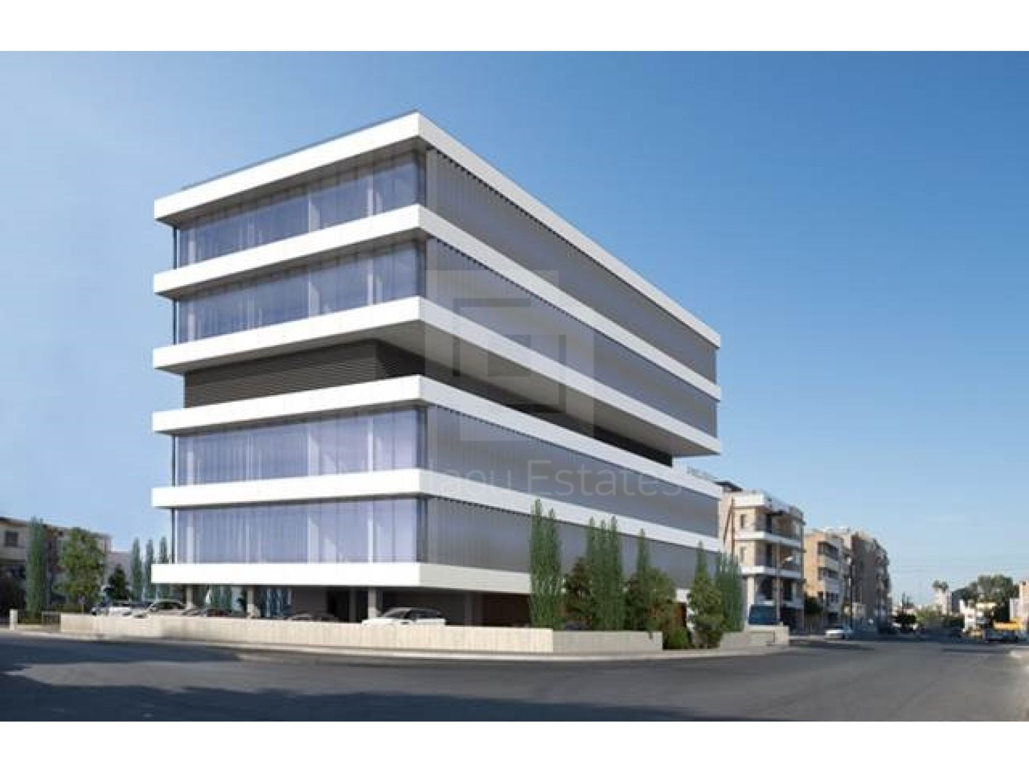 Commercial land for sale with approved building permits commercial building with ground floor plus five floors