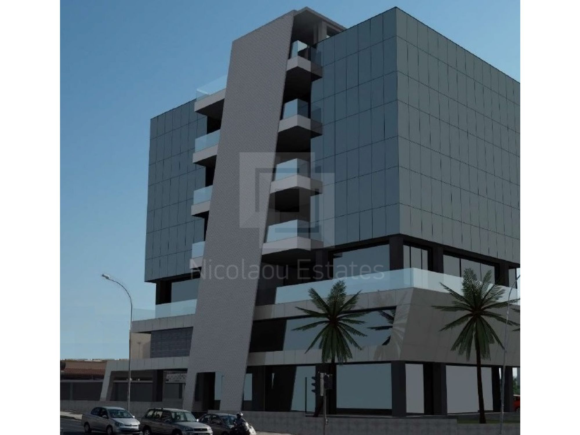 Large Brand new and luxury office space for rent on a main commercial road of Limassol