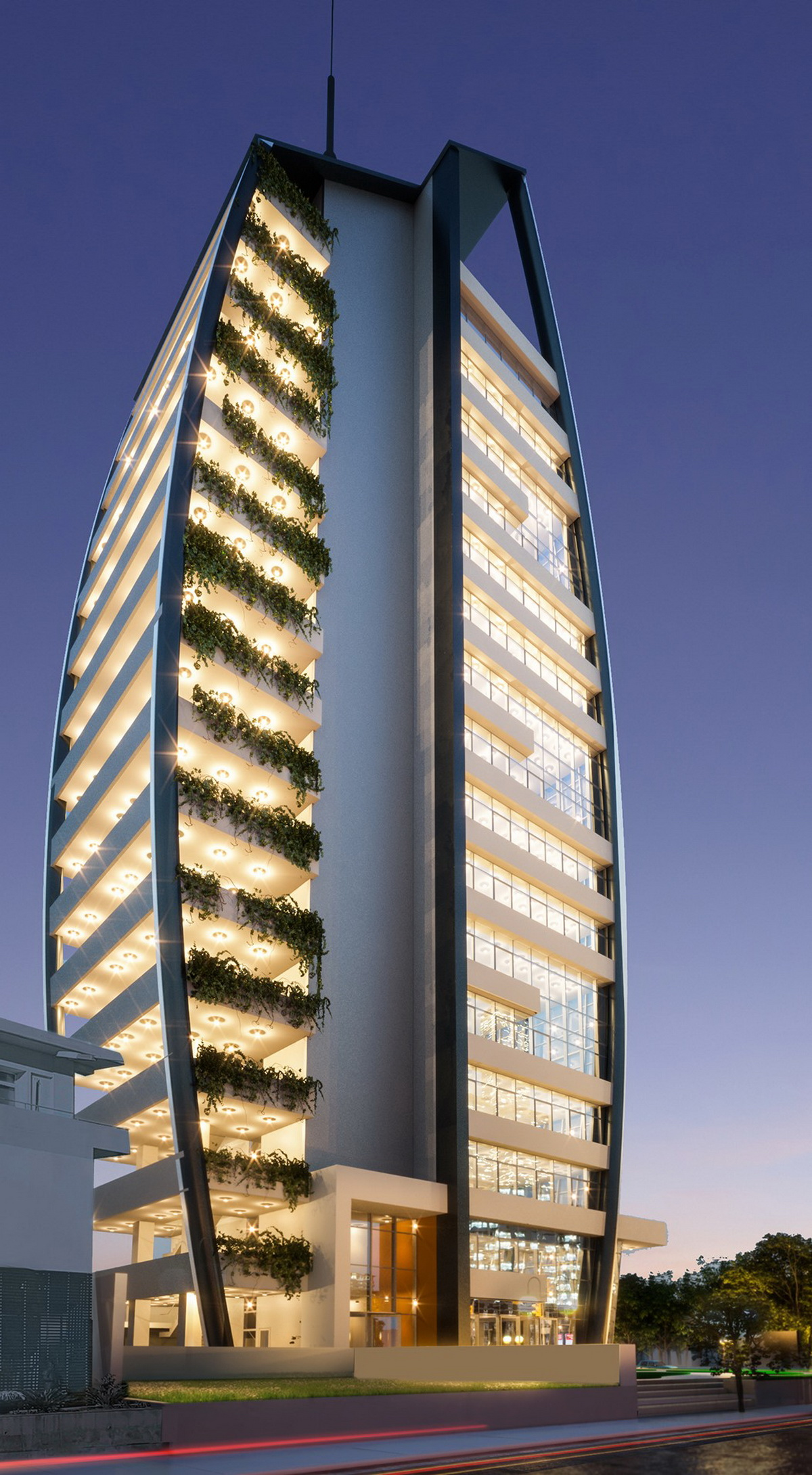 Spacious, ultramodern brand new offices in the city center of Nicosia