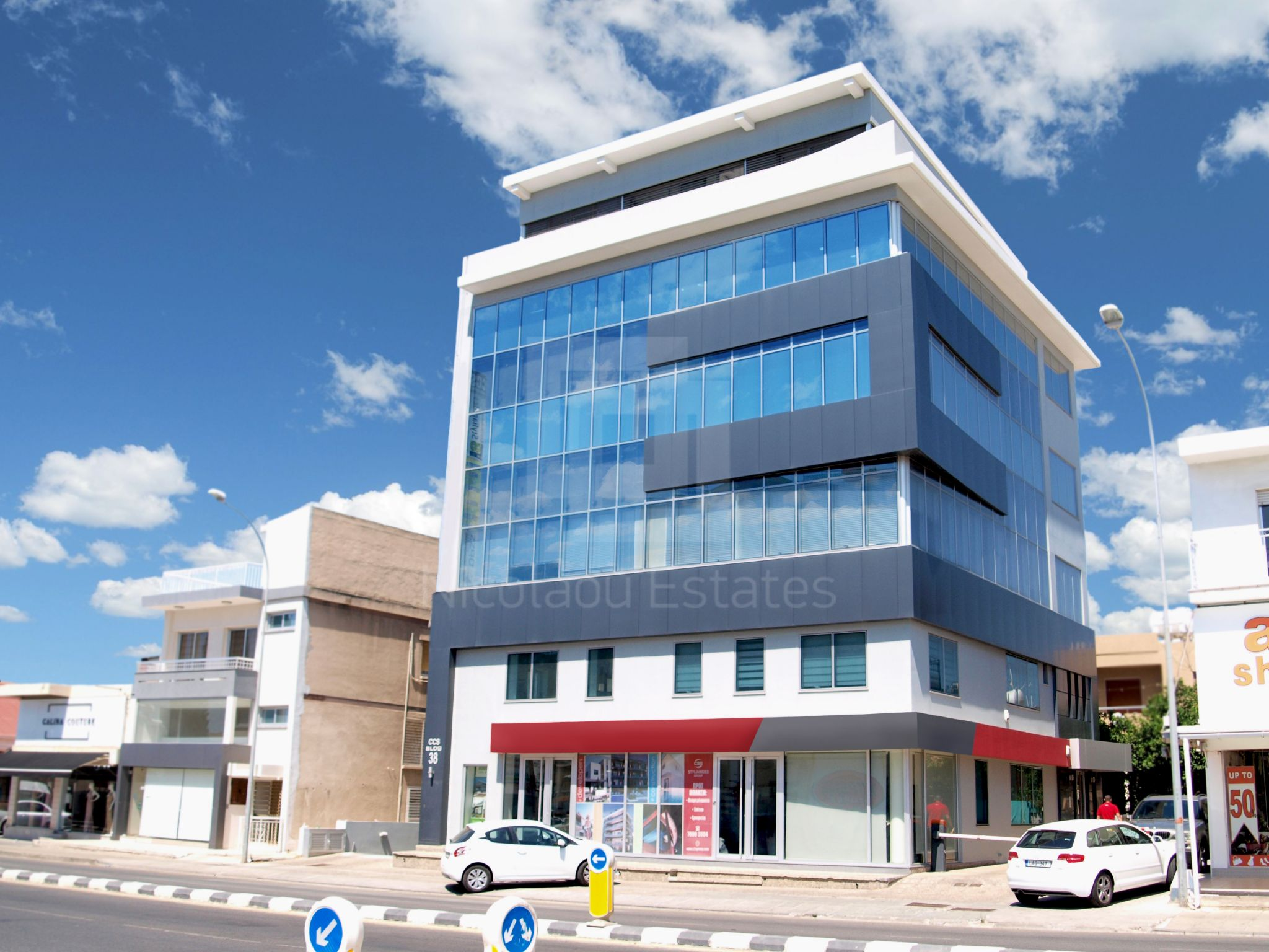 Modern commercial building close to Limassol's central business