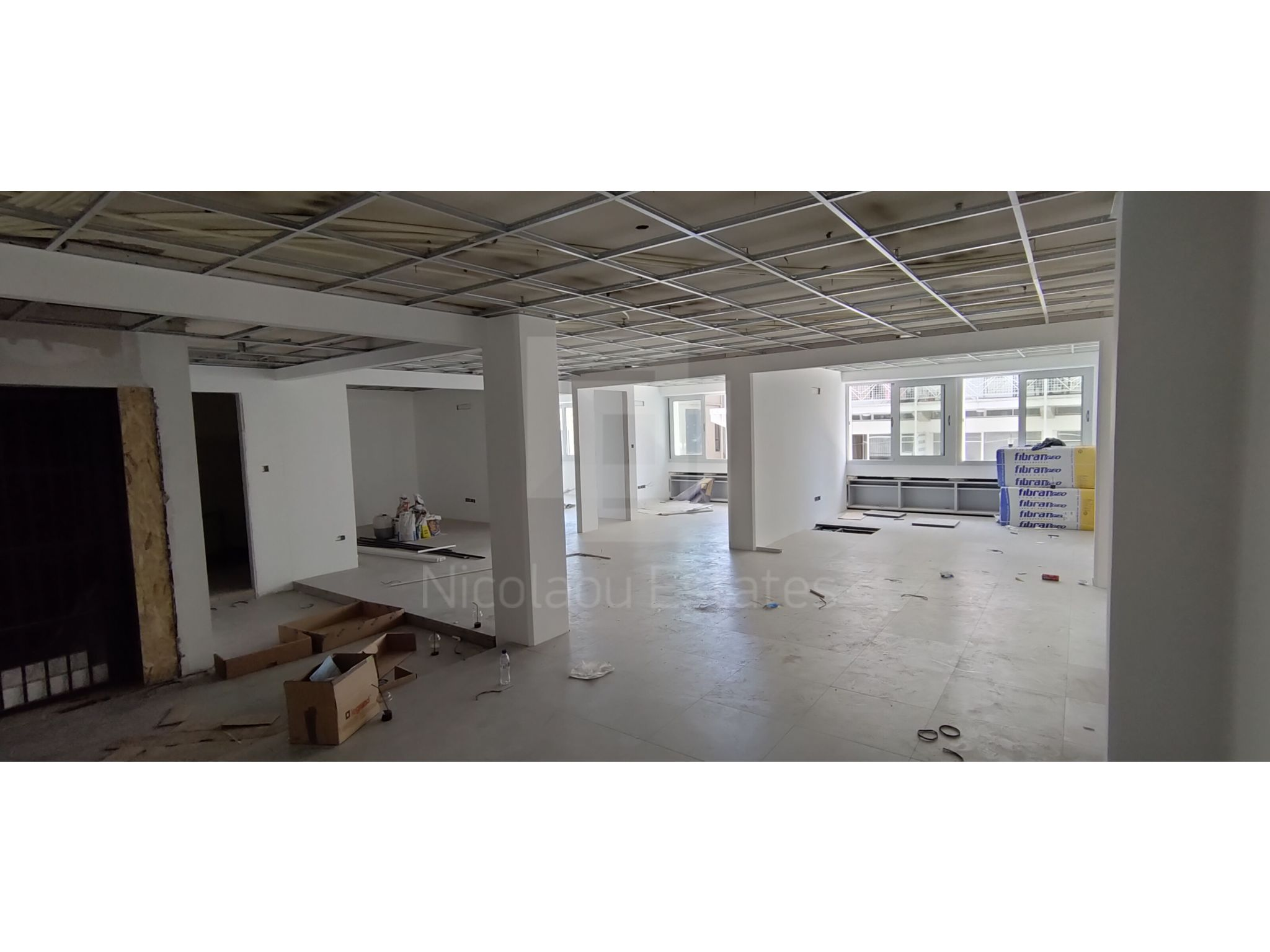 Large modern feature renovated office space in the Old Town