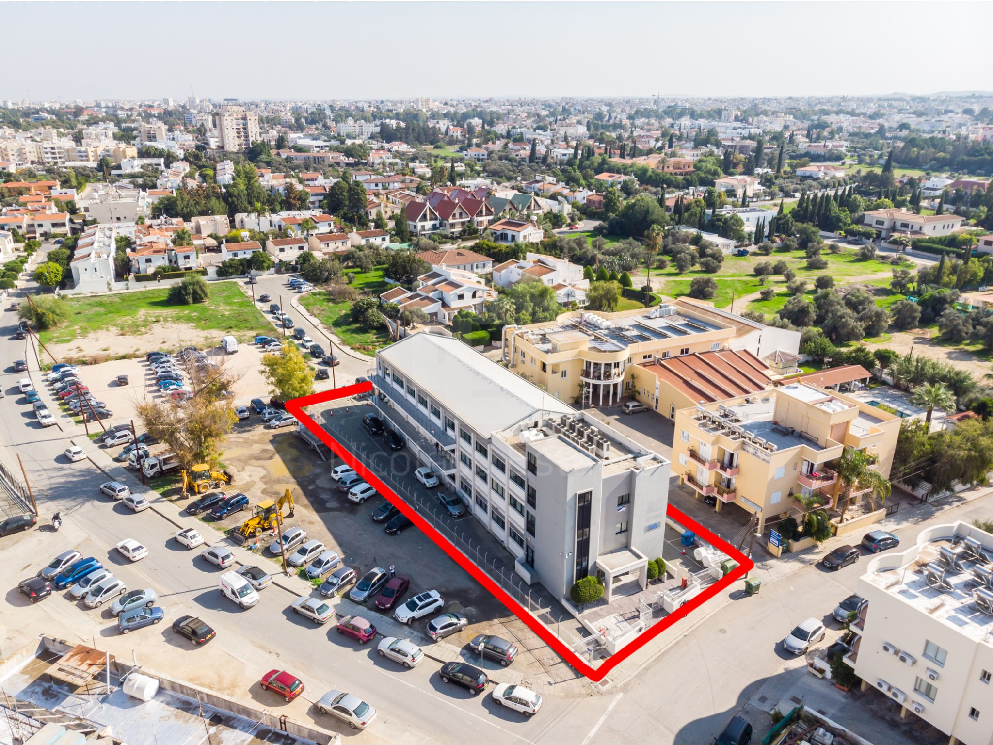 Excellent investment opportunity for a commercial building in Strovolos