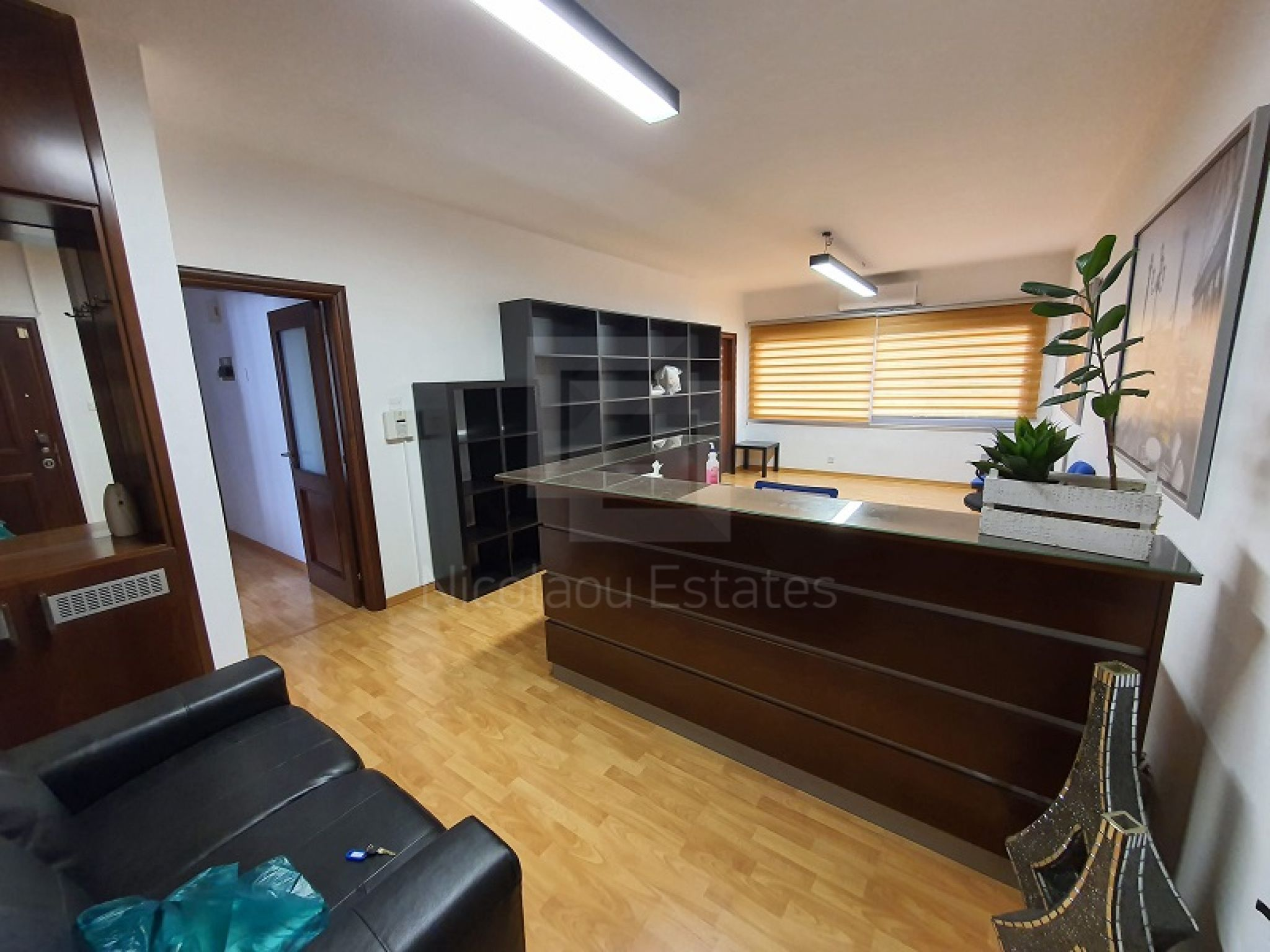 Furnished office for rent in Limassol center in a walking distance to District Courts