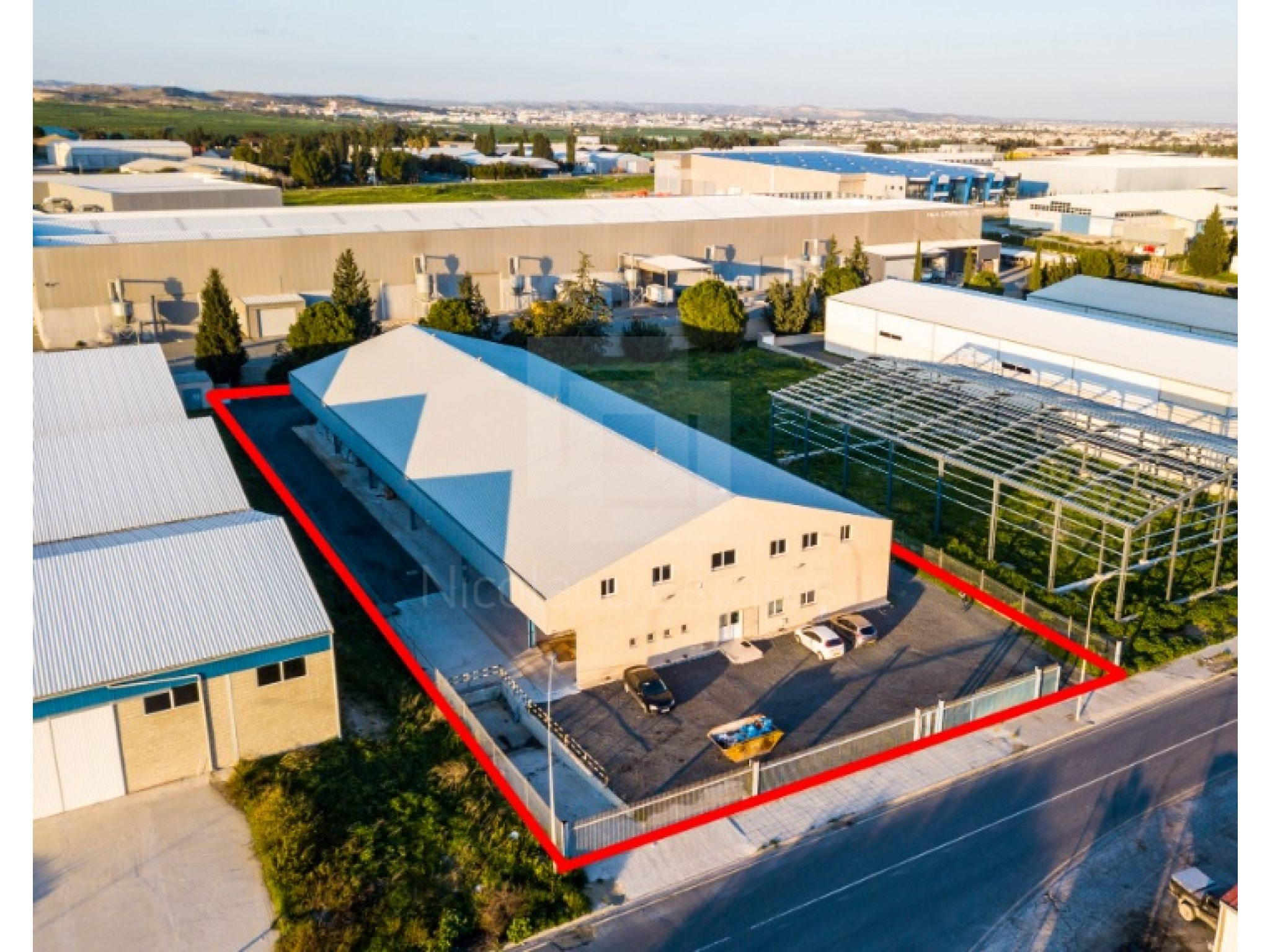 Big industrial unit in Aradippou, Larnaca