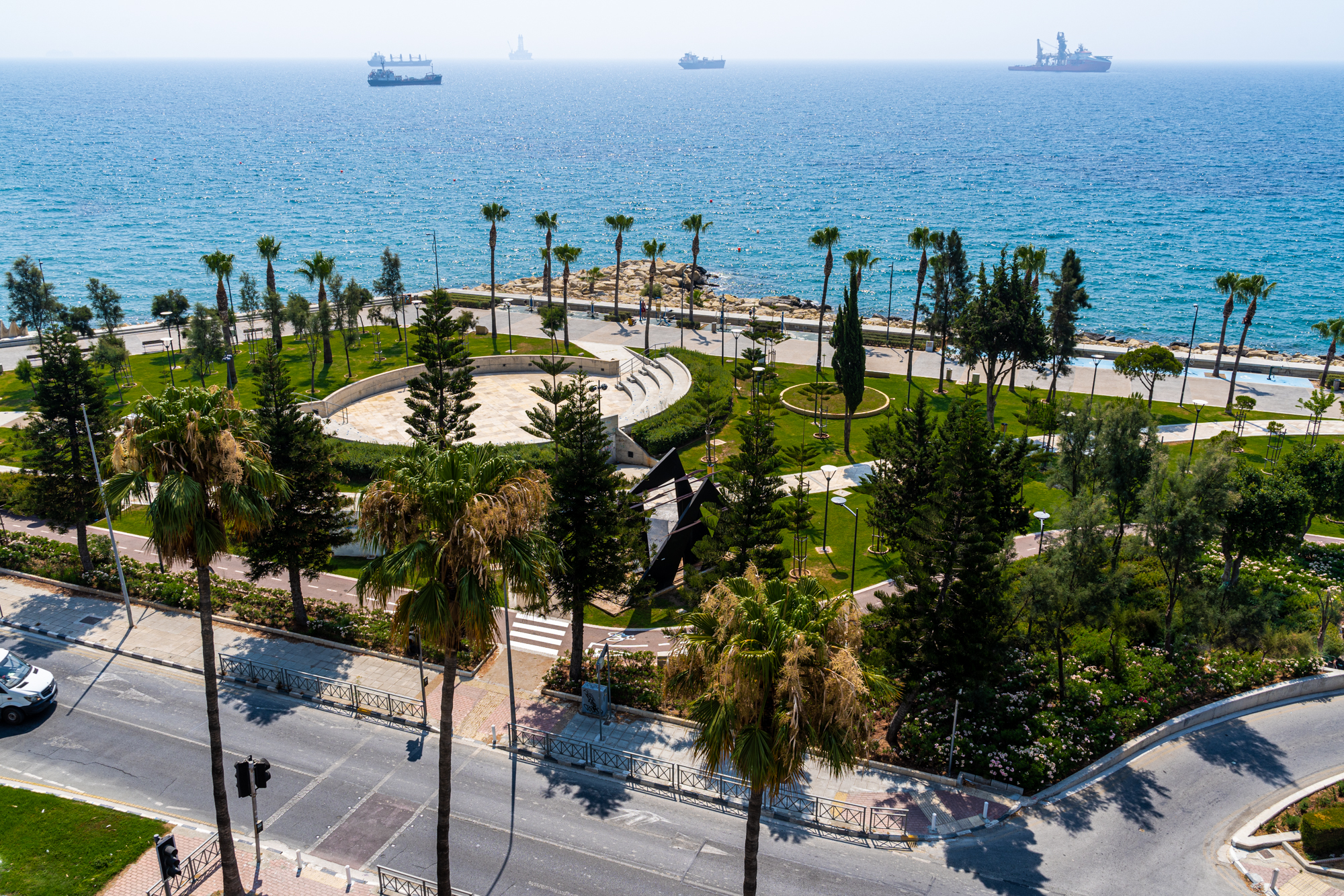 Limassol 220m2 Sea Front Office Rent – Historical Centre