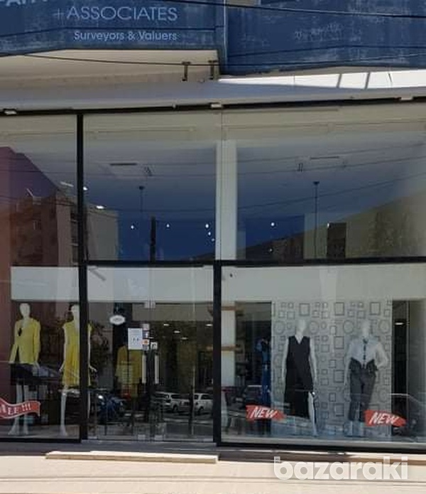130m² – open plan office/ showroom/ commercial store – central location
